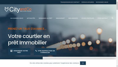 Site internet de Tours And Co - City And Co