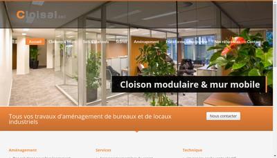 Site internet de Cloisal