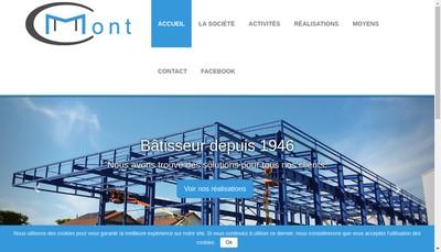 Site internet de Les Constructions Metalliques Mont