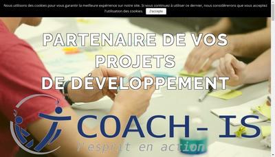 Site internet de Coach'Is