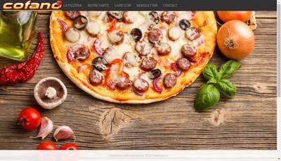 Site internet de Cofano Pizza