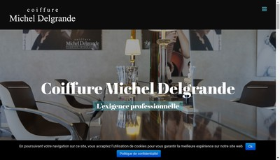 Site internet de Salon Michel Delgrande