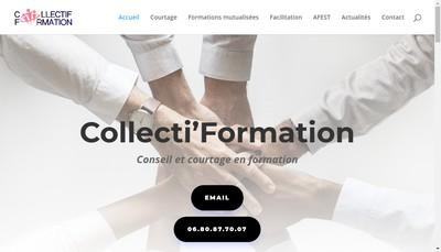 Site internet de Collectif Formation