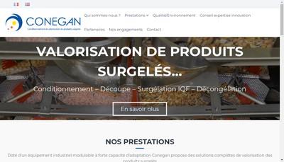 Site internet de Conegan