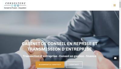 Site internet de Consultenz