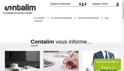 Site internet de Contalim
