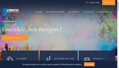 Site internet de Corotec