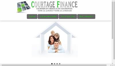 Site internet de SARL Courtage Finance