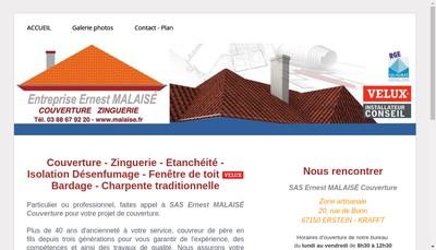 Site internet de SARL Ernest Malaise