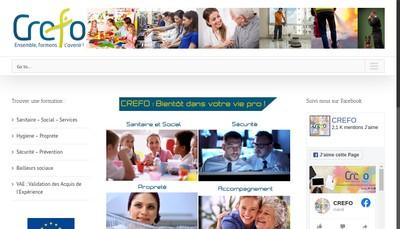 Site internet de Centre Recherches Etudes Formation Organis