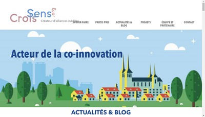 Site internet de Crois Sens Org