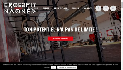 Site internet de Fit Naoned