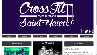 Site internet de Crossfit Saint-Maur