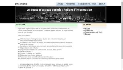 Site internet de Crp Detective