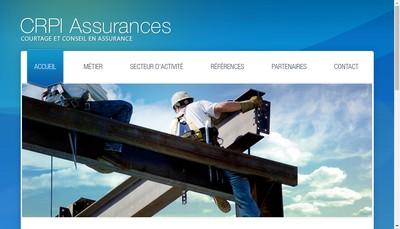 Site internet de Crpi SA Conseil Courtage d'Assurances
