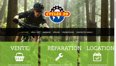 Site internet de Cycle 20