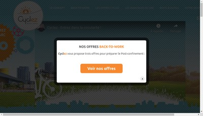 Site internet de Cyclez