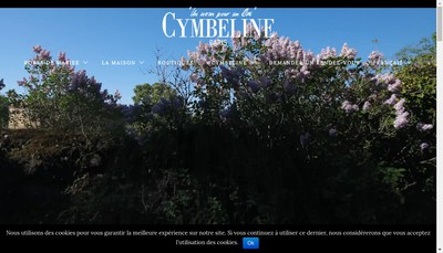 Site internet de Cymbeline Paris