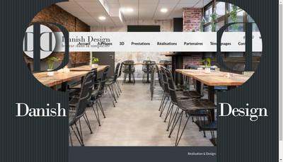 Site internet de Danish Design