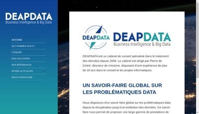 Site internet de Deapdata