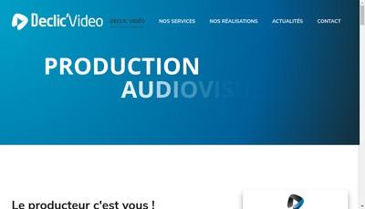 Site internet de Declic'Video