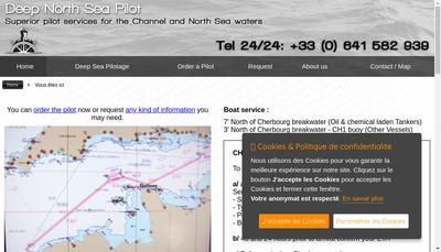 Site internet de Deepseapilotage
