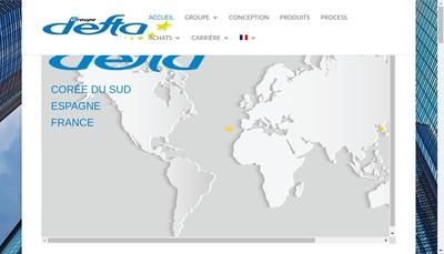 Site internet de Defta Essomes