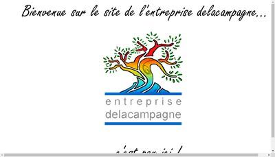 Site internet de Entreprise Delacampagne