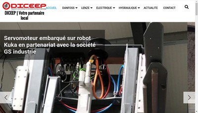 Site internet de DICEEP