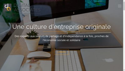 Site internet de Digital Associates