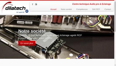 Site internet de Dilatech
