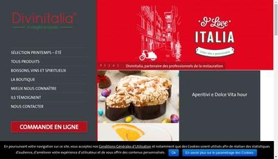 Site internet de Divinitalia