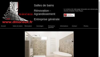 Site internet de Moreux