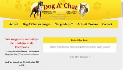 Site internet de Dog a ' Chat
