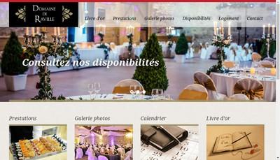 Site internet de SARL le Domaine de Raville