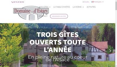 Site internet de Domaine d'Estary