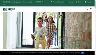 Site internet de Dom'Ethic Services