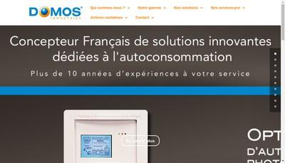 Site internet de Domos Industries