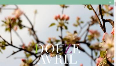 Site internet de Douze Avril
