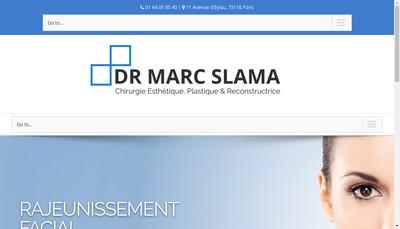 Site internet de Marc Slama