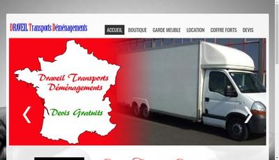 Site internet de DTD Draveil Transport Demenagement