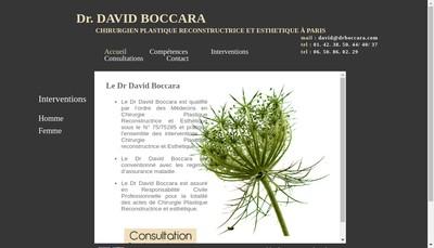 Site internet de David Boccara