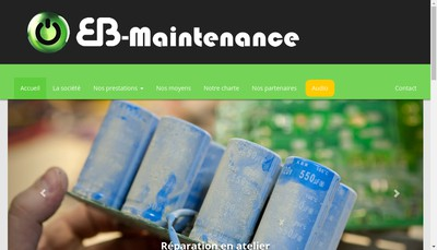 Site internet de Eb-Maintenance