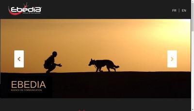 Site internet de Ebedia