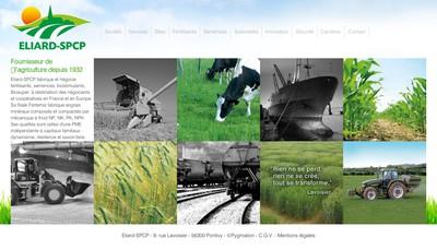 Site internet de Eliard-SPCP