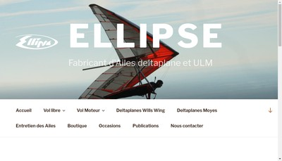 Site internet de Ellipse SARL