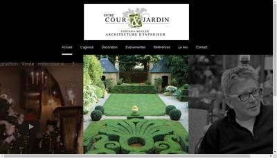 Site internet de Fontana-Muller Decoration