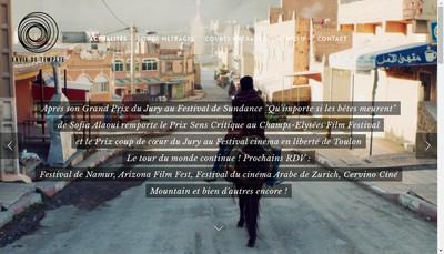 Site internet de Envie de Tempete Productions
