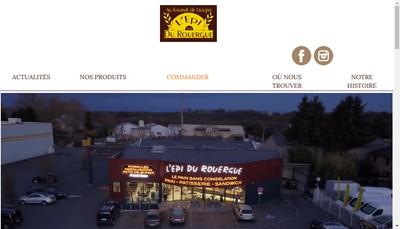 Site internet de L'Epi du Rouergue