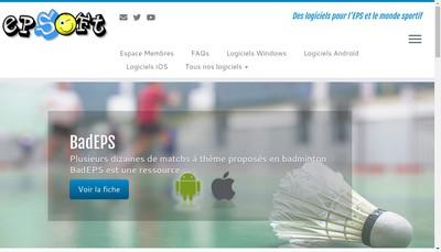 Site internet de Epsoft